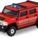ミニカー発売情報 トミカショップオリジナル ハマーH2(消防指揮車仕様)