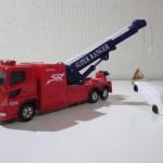 トミカ No.132 横浜市消防局 特別高度救助部隊 機動けん引工作車