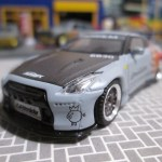 MINI GT 98 1/64 Pandem Nissan GT-R ROCAF Malataw Fighter
