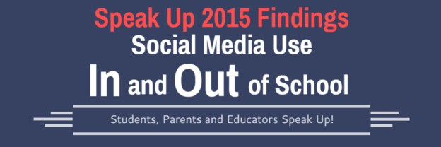 speak up findings on social media use of students parent and teachers