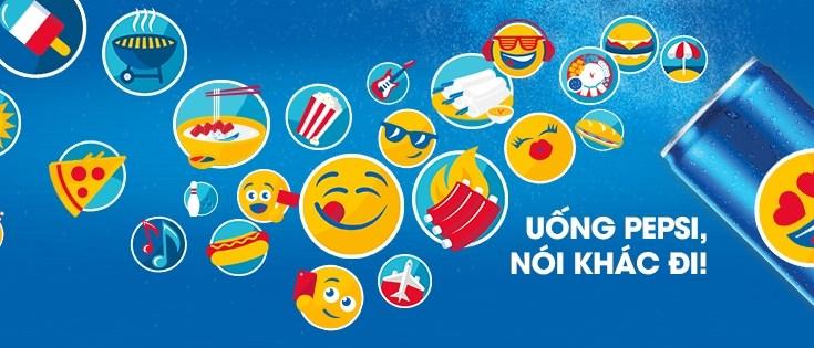 Pepsi sử dụng emoji trong Marketing