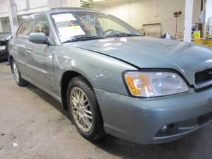Parting out 2004 Subaru Legacy  Stock #110249  Tom's