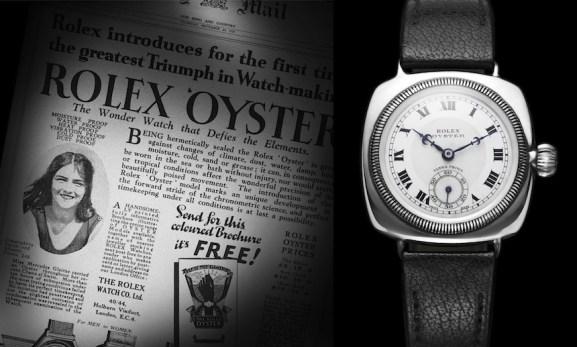 Rolex Mercedes Gleitze Oyster waterproof