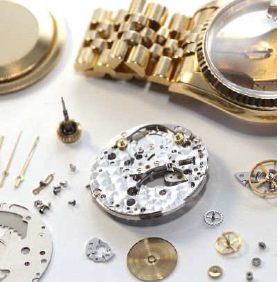 Watch servicing for a Rolex