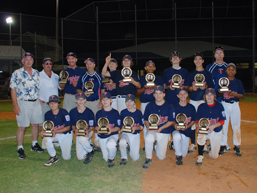 2009 South Fort Myers Junior Twins Championship Team Photo