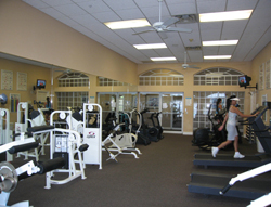 Reflection Lakes Exercise Room in Fort Myers Florida