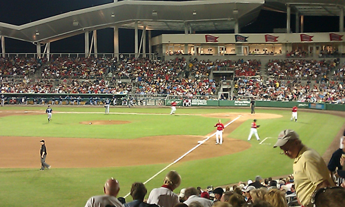 Fenway South a Big Hit With Baseball Fans
