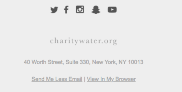 email example footer