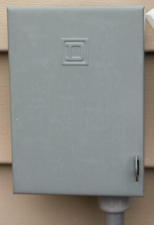 Electrical Shut off box