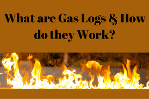 What are gas logs?
