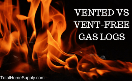 Vented or ventless gas logs: which do you need for your home?