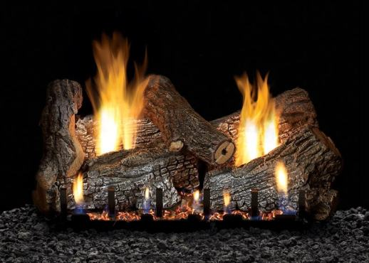 Image of White Mountain Hearth Sassafras Log Set
