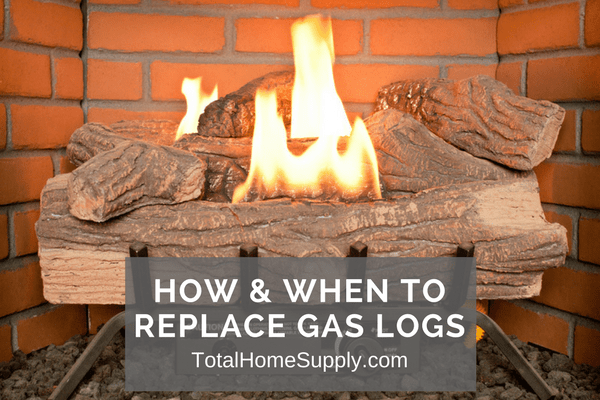 How Long Do Gas Logs Last? When & How to Replace Gas Logs