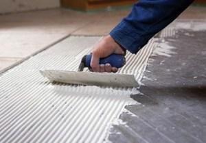 Nuheat mat installation