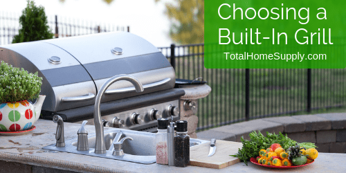 Choosing a built-in grill