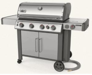 Weber freestanding grill
