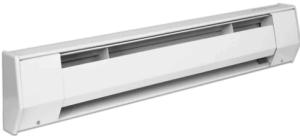 King 6K2415BW 6 Foot 1125/1500 Watt Electric Baseboard Heater