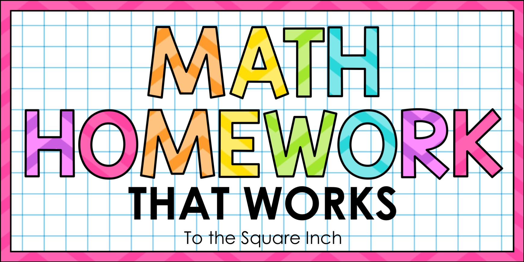 Math Homework That Works