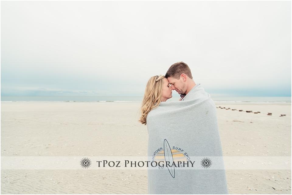 Sea Isle City Beach Engagement Photos
