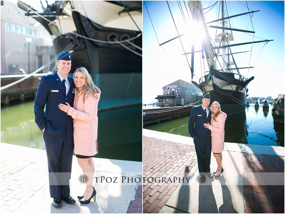 Inner Harbor Engagement Photos