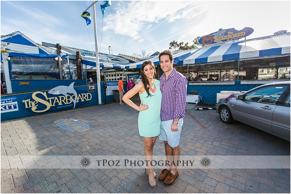 The Starboard Dewey Beach Engagement Photo