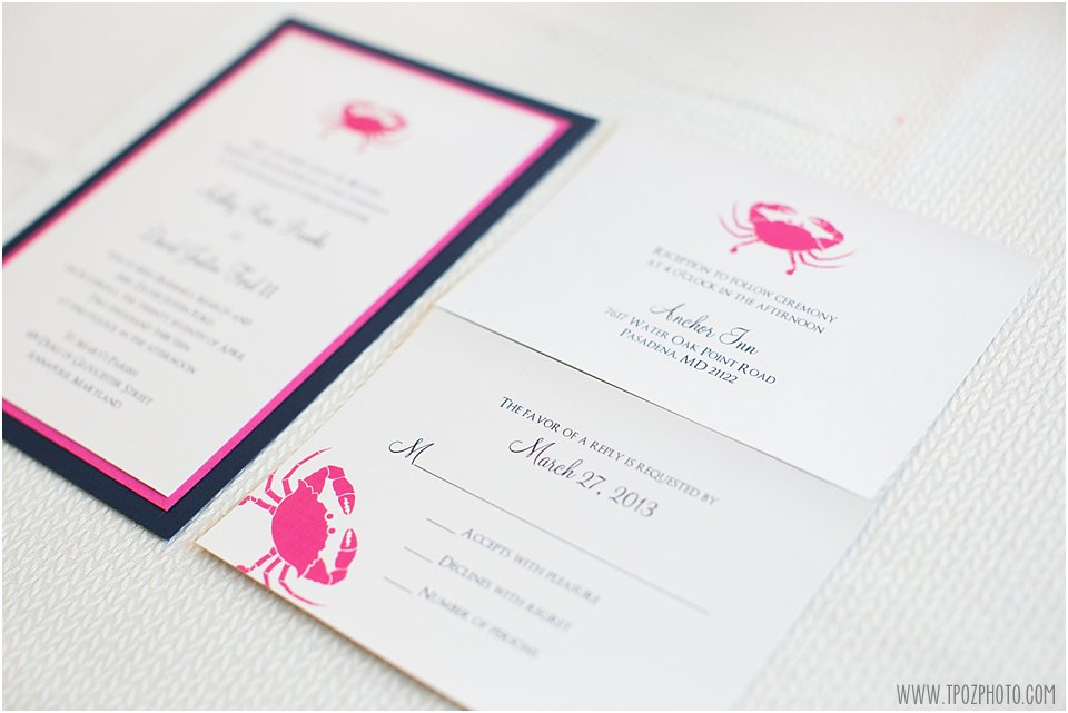 Allison Barnhill Designs Wedding Invitations