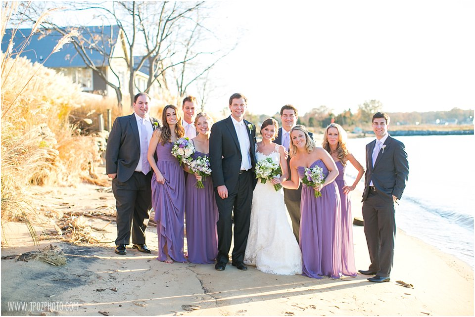 Chesapeake Bay Beach Club Wedding Reception