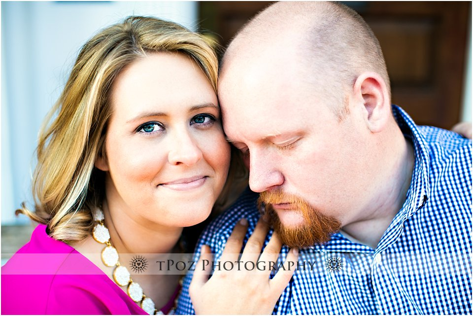 old town alexandria engagement photos