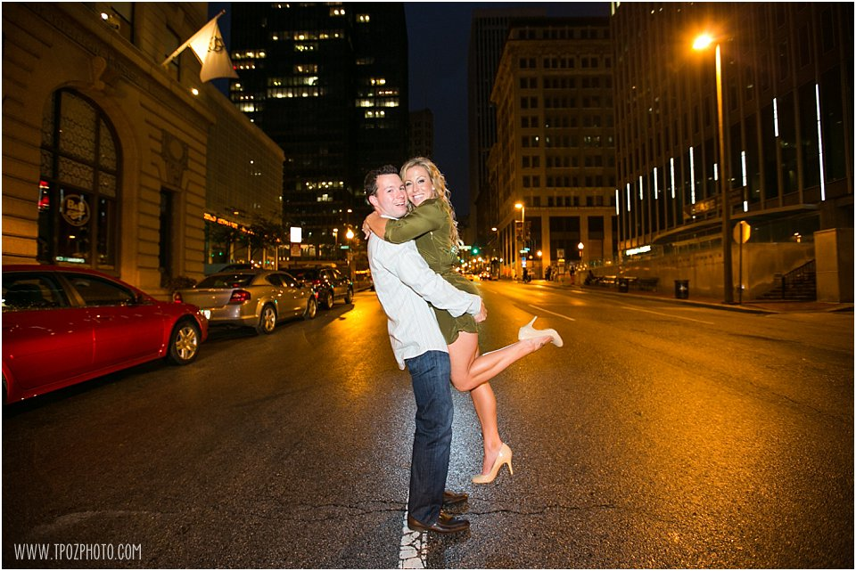 Downtown Baltimore Engagement Session