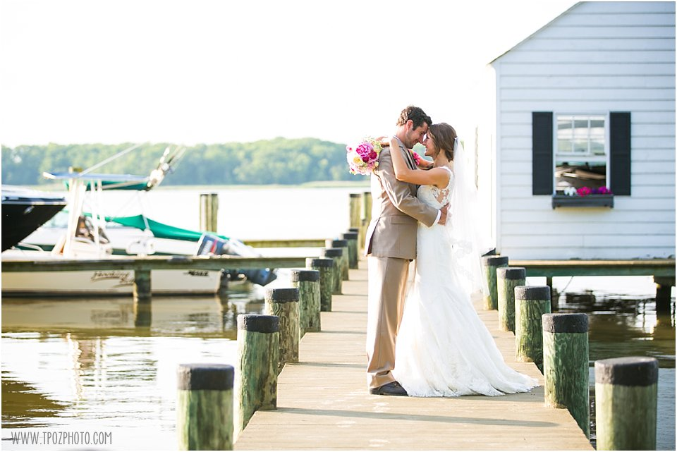 Water's Edge at Marshy Point Wedding
