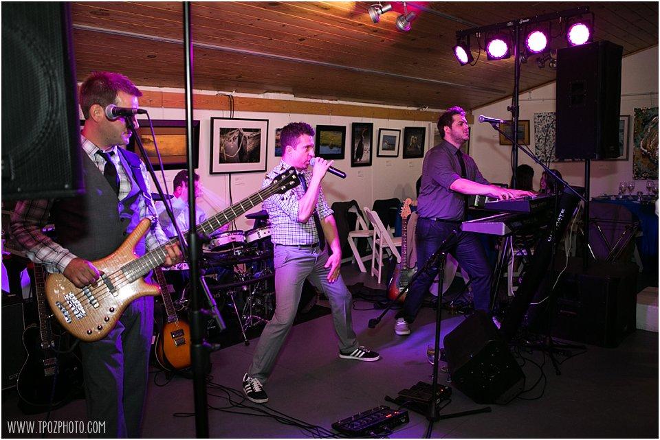 Snackbar Jones Band at a wedding