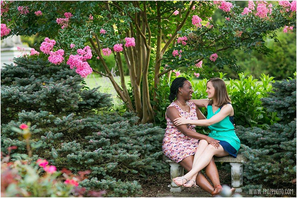 Cylburn Arboretum Same Sex Engagement Photos
