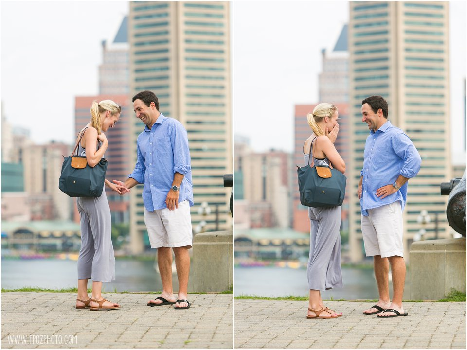 Baltimore Inner Harbor Engagement Proposal