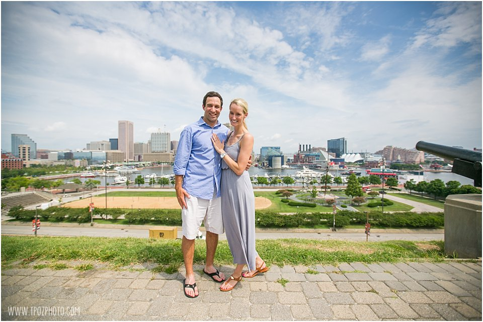 Federal Hill Engagement Pictures