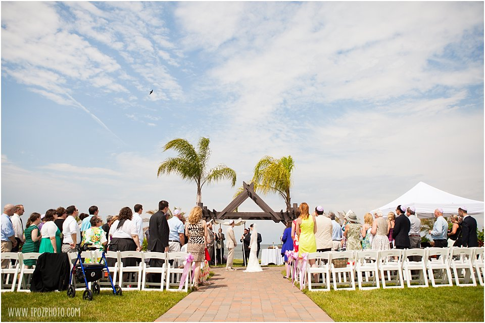 Herrington on the Bay Wedding Ceremony