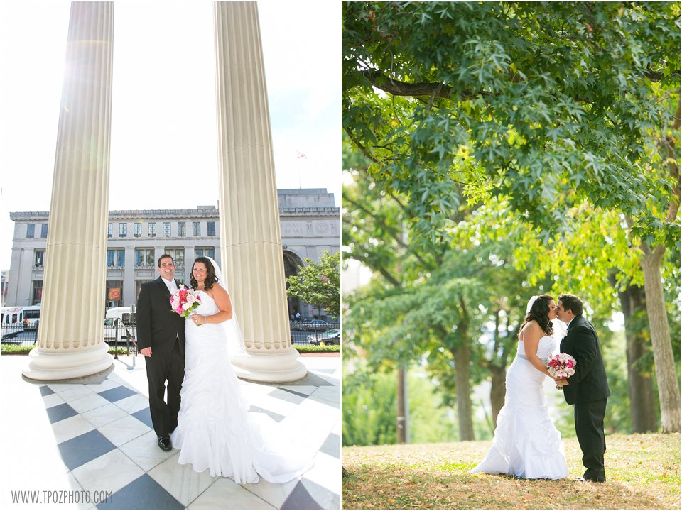 Jessica+Scott's Baltimore Basilica and Hotel Monaco wedding