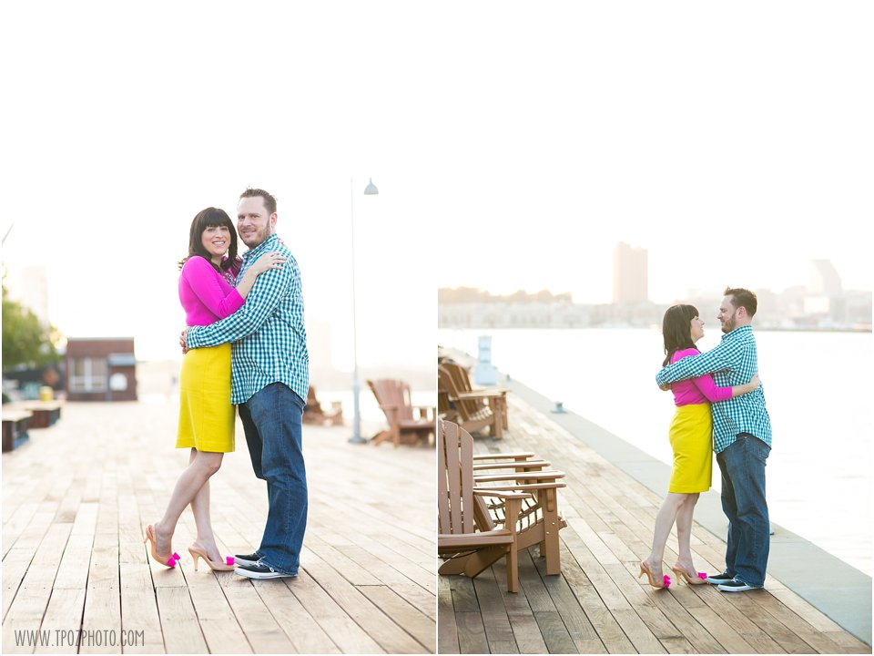 Tide Point Engagement Photos