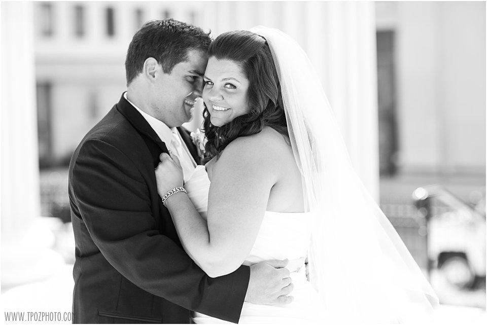 Baltimore Basilica + Hotel Monaco Baltimore Wedding