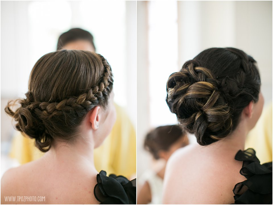 Bridesmaids updo hairstyles