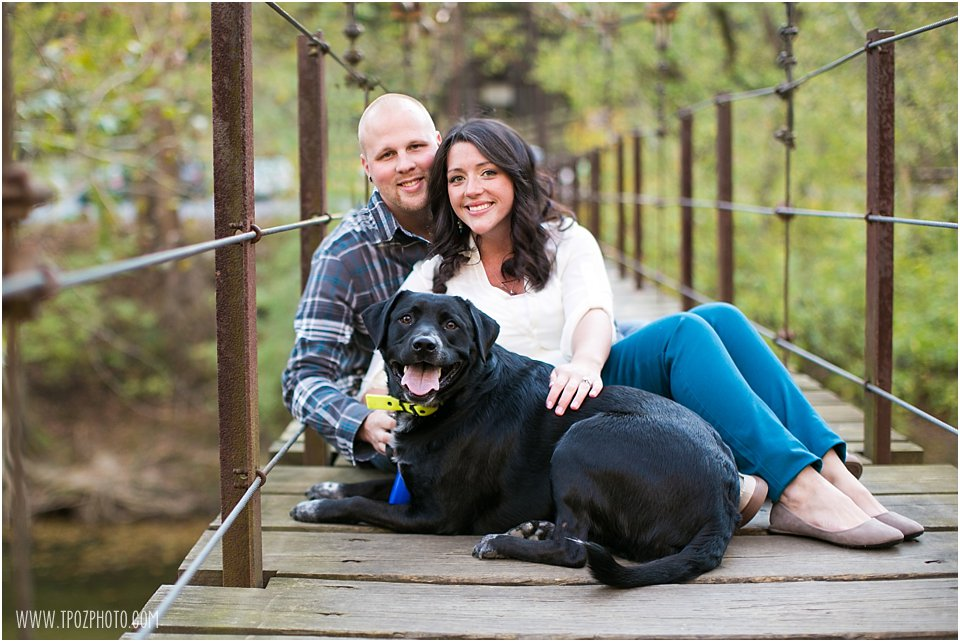 Doggie Engagement Photos