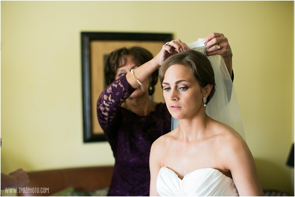 Wyndham Peabody Wedding Prep