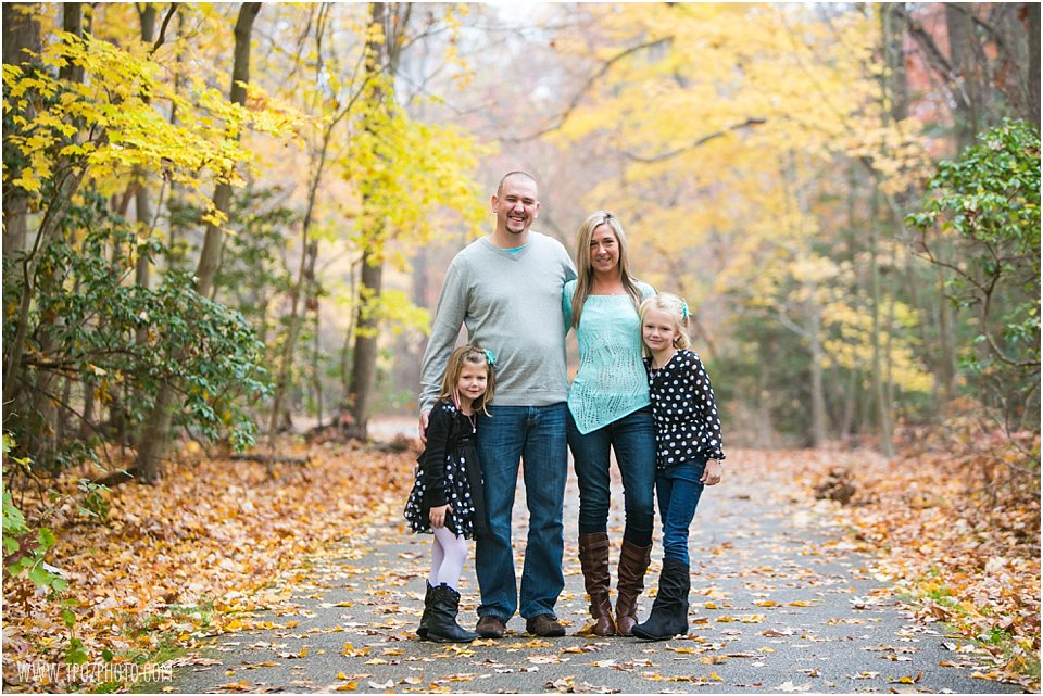 Quiet Waters Park Family Portrait