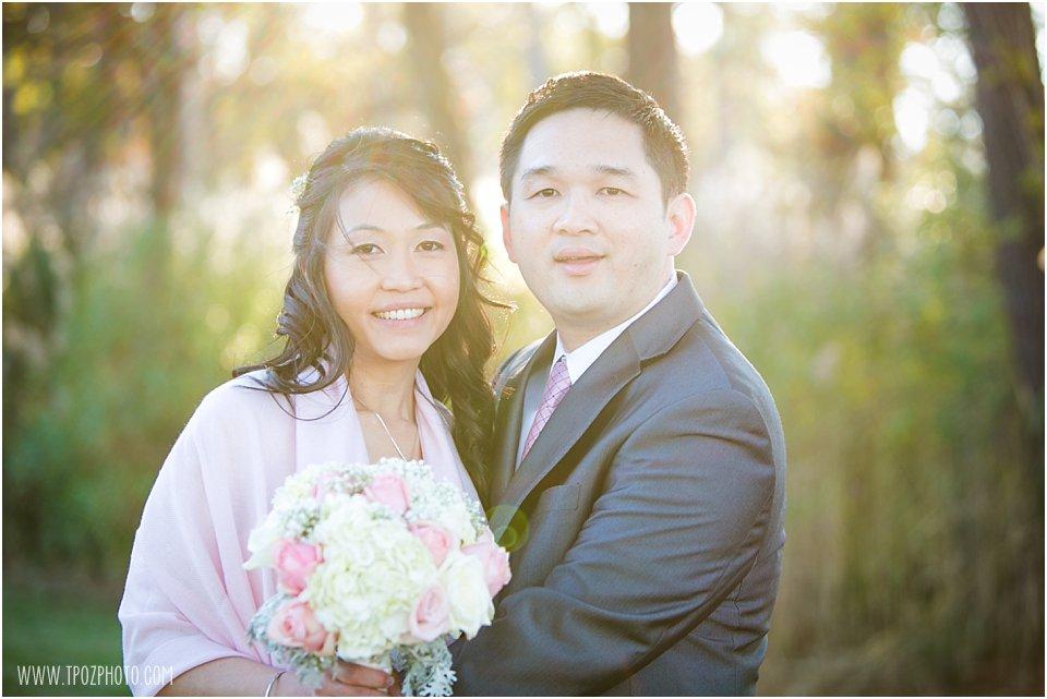 Osprey Point Inn Wedding Bride & Groom