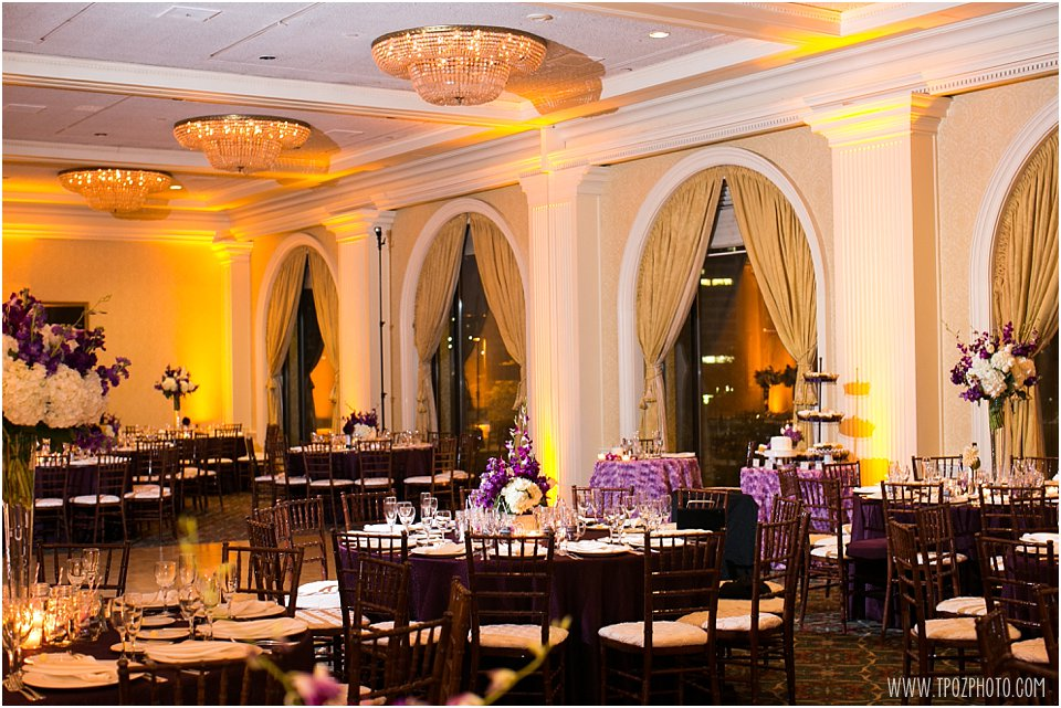 Royal Sonesta Baltimore Wedding Reception Photos