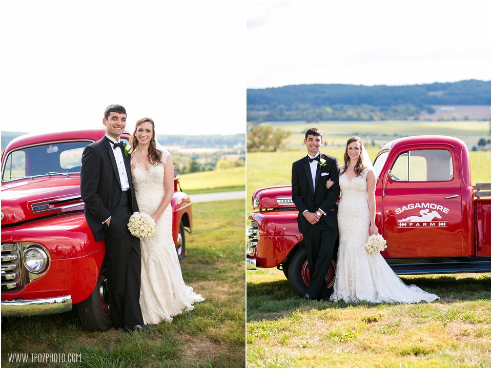 Sagamore Farm Wedding Photos