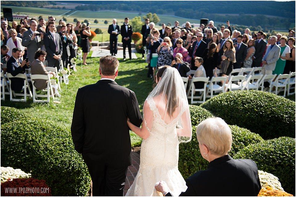Sagamore Wedding Ceremony
