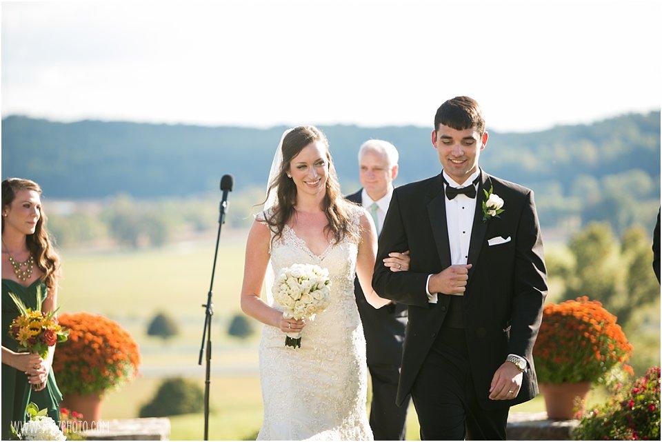 Sagamore Farm Wedding Ceremony