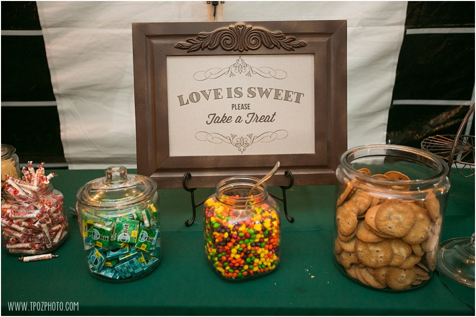 Wedding Reception cookie bar