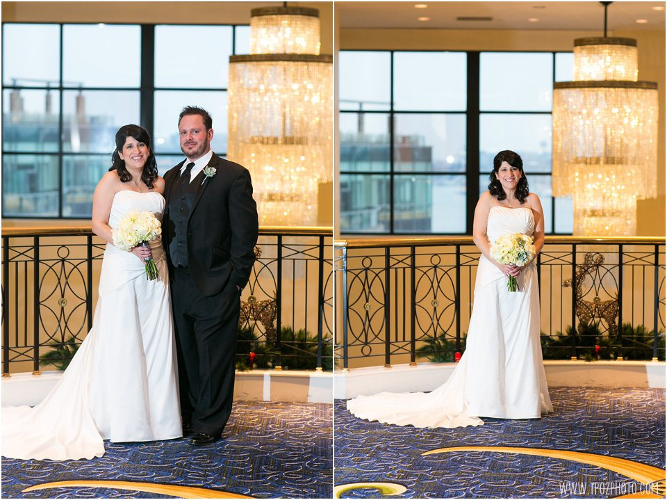 Wedding Portraits - Baltimore Waterfront Marriott