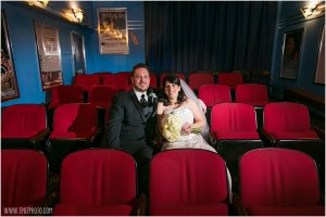 Baltimore Museum of Industry Theater Wedding